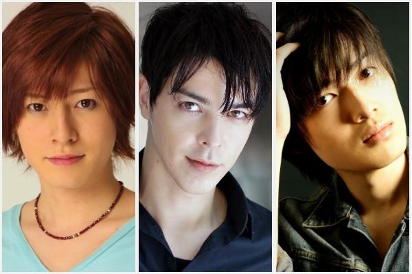 (左から)木村敦さん、汐崎アイルさん、坂垣怜次さんの、何汐だからこその夢の顔合わせが実現!