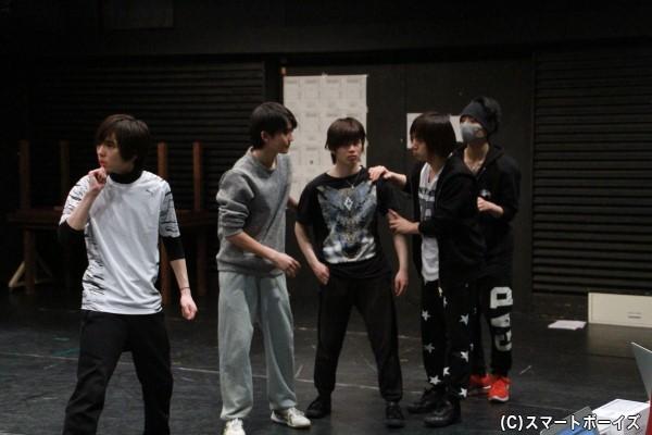 今後要チェックの若手俳優5人が東堂・北早・南澤を手助けする少年探偵団を演じます!