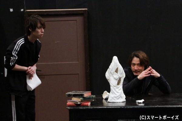 横田さん演じる北早は、武闘の使い手として東堂をサポート
