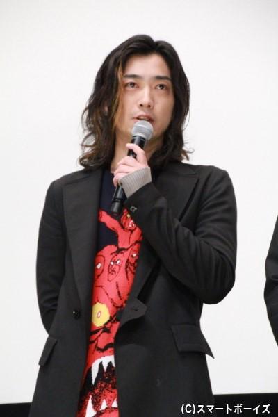 鷹山仁/仮面ライダーアマゾンアルファ役の谷口賢志さん