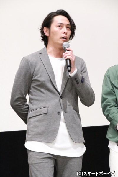 御堂英之介役の姜暢雄さん