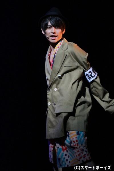 少年探偵団・いの(猪俣裕)役の竹中凌平さん