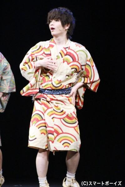 少年探偵団・もーちゃん(牛中崇)役の夏目雄大さん