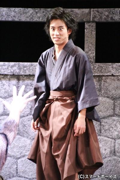 相馬格乃進役の武子直輝さん
