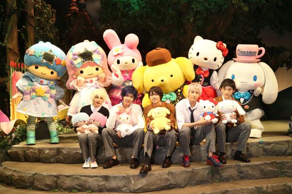 お披露目会登壇キャスト:(左から)宮崎 湧さん、笹森裕貴さん、北川尚弥さん、吉澤 翼さん、和合真一さん