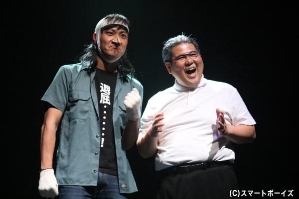 (左から)こりゃめでてーな 伊藤さん、セブン by セブン 玉城さん