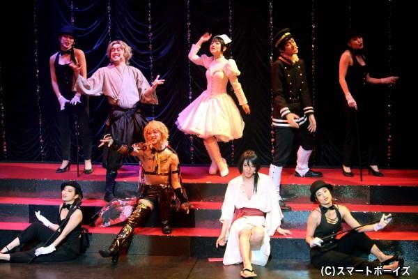 『艶漢』の世界観はそのままに、めくるめく魅惑の歌謡ショーが開幕!