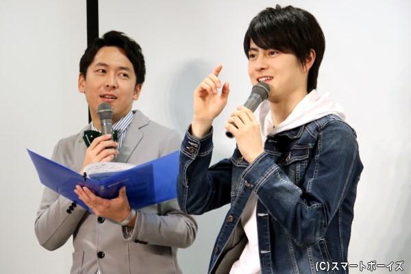 ニコ生スタート報告も! 松村龍之介さん&MC・せとたけおさんの掛け合いに大盛り上がり