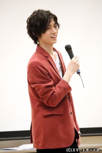 トーク上手な高橋健介さん、持ち込み企画でも大盛り上がり!