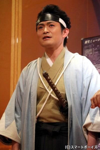 近藤勇 役・井俣太良さん