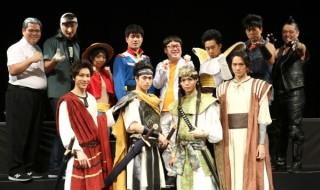 アニメモノマネでお馴染みの芸人たち×舞台俳優陣が夢の競演でコラボレーション!