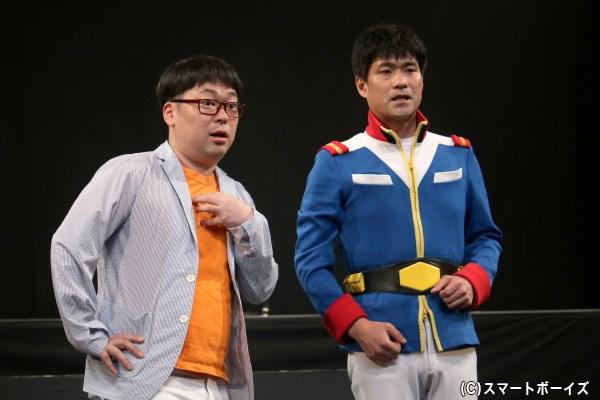 (左から)天津 向さん、若井おさむさん