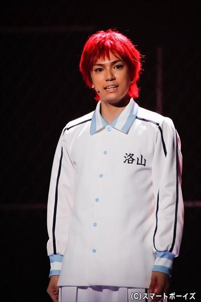 糸川耀士郎さん演じる赤司征十郎。ウインターカップの会場に姿を現す……