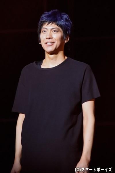 小沼将太さん演じる青峰大輝。インターハイ予選に続き、黒子たちの前に立ちはだかる。