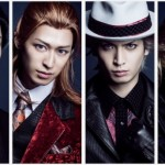 (左から)TOKI役 松村龍之介さん、REN役 高本学さん、RAN役 小波津亜廉さん、CAMUS役 菊池修司さん
