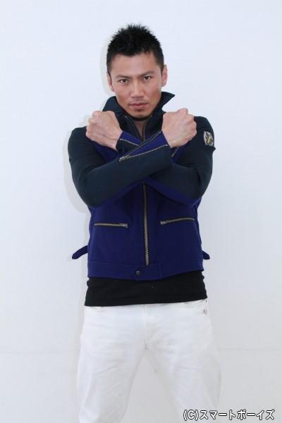 烏丸舟/宇宙刑事シャイダー役の岩永洋昭さん