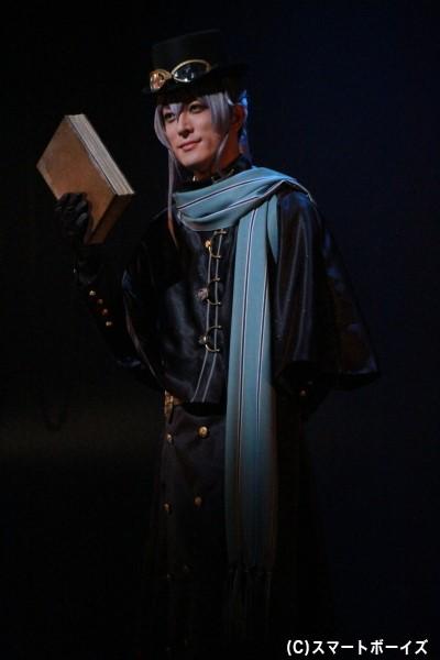 エルロック・ショルメ役の君沢ユウキさん