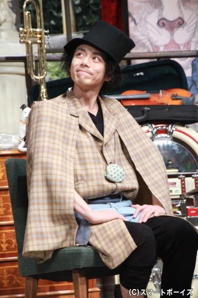まっ透明な世界の住民・ピータン役の富田翔さん