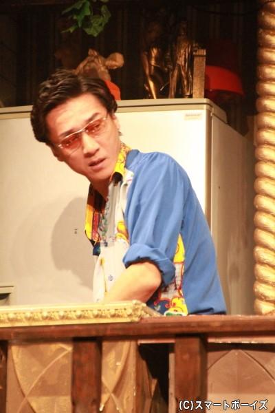 まっ透明な世界の住民・ヴィシソワーズ役の向野章太郎さん