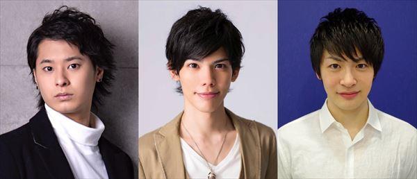 左より)「謎のバンド」畠山 遼さん、健人さん、吉村駿作さん