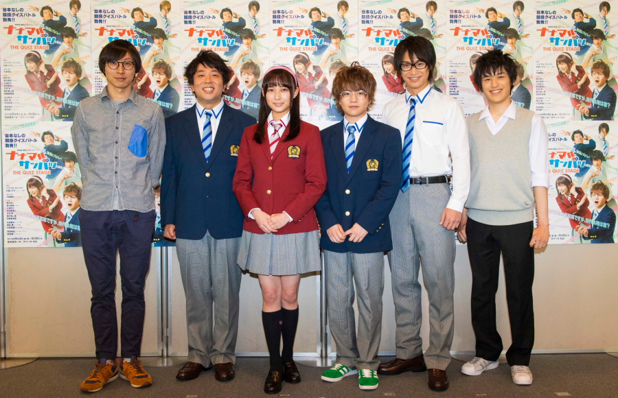 (左から)大歳倫弘さん、諏訪雅さん、鈴木絢音さん、西井幸人さん、小澤亮太さん、中村嘉惟人さん