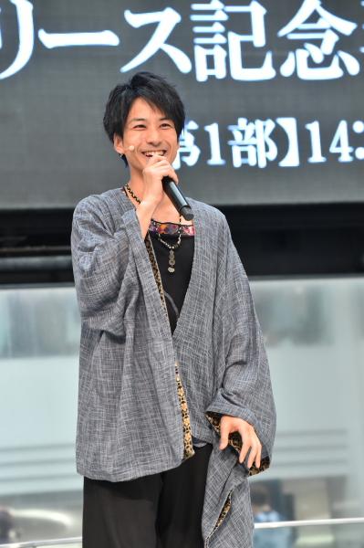 桜menのリーダー、尺八担当の中村仁樹さん