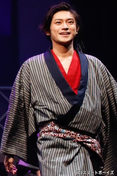 菊次郎役の原嶋元久さん