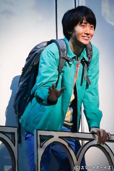 アメリが恋に落ちる青年・ニノを演じるのは、太田基裕さん