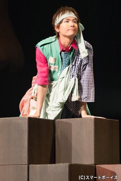 冒険家役の多和田秀弥さん