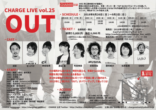 CHARGE Vol25『OUT』裏
