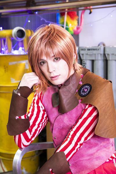 マルコ(コスチュームカラー/ピンク):横田龍儀さん