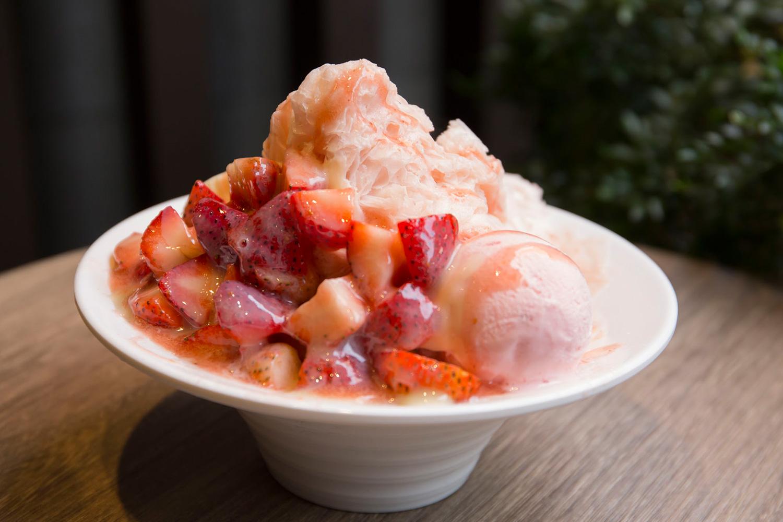 「霸王草莓雪花氷(スーパー苺雪花氷)」