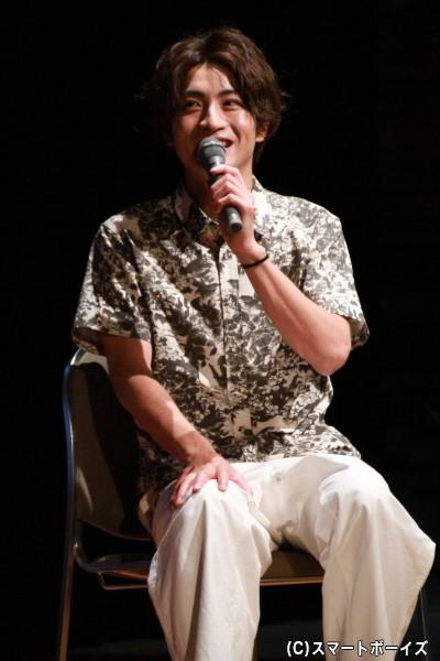 DVD「木村達成の達成できるかな?」リリースイベントを開催した木村達成さん