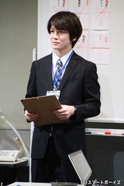 制作助手・嶋役の小西成弥さん