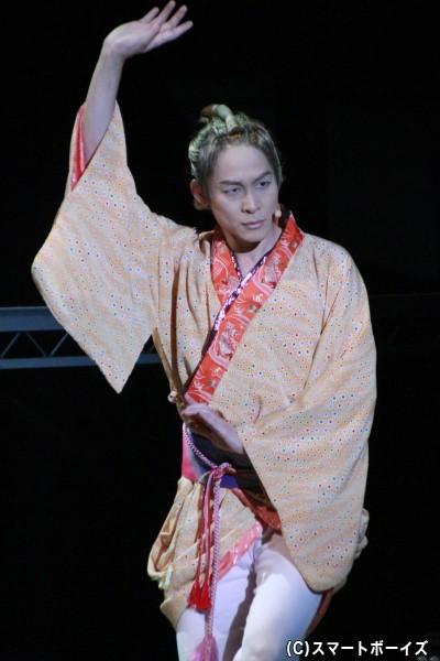 喜多八役役の藤原祐規さん