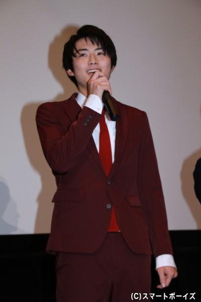 ラッキー/シシレッド役の岐洲匠さん