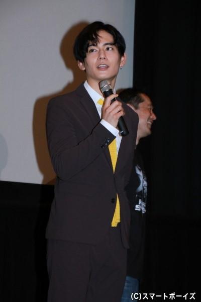 スパーダ/カジキイエロー役の榊原徹士さん