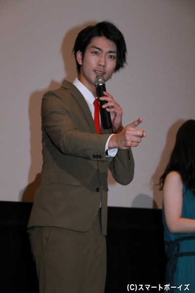 鳳ツルギ/ホウオウソルジャー役の南圭介さん