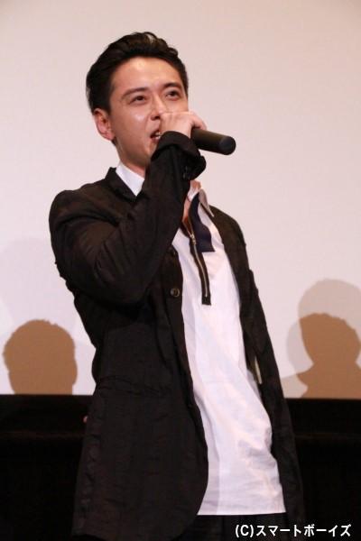 十文字撃/宇宙刑事ギャバンtypeG役の石垣佑磨さん