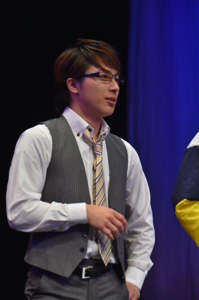 ゲネプロ公演にゲスト登場した、米原幸佑さん