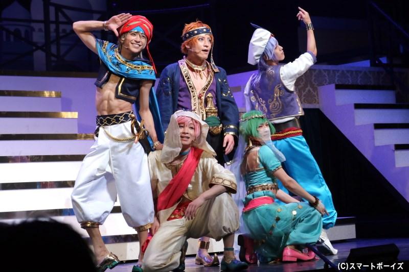 「夏組」の初公演は、アラビアン・ナイトを題材にしたコメディに挑戦!