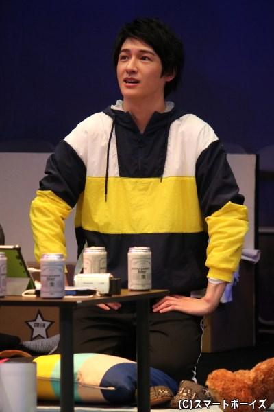 ゲネプロ公演回では、★チームのしゅうくん(神里優希さん)がゲストとして登場