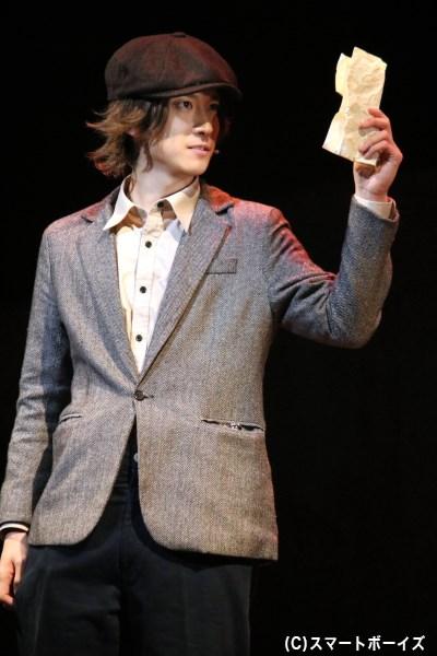 ドイツでの任務にあたる甘利(山本一慶さん)は、映画好きの青年に扮する