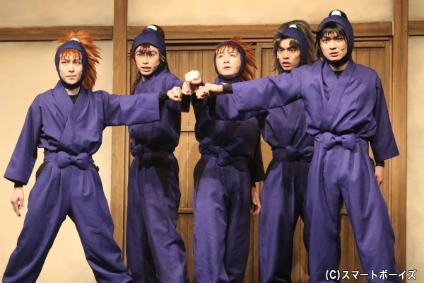 忍術学園の窮地に、チームワーク抜群の五年生が立ち上がる!