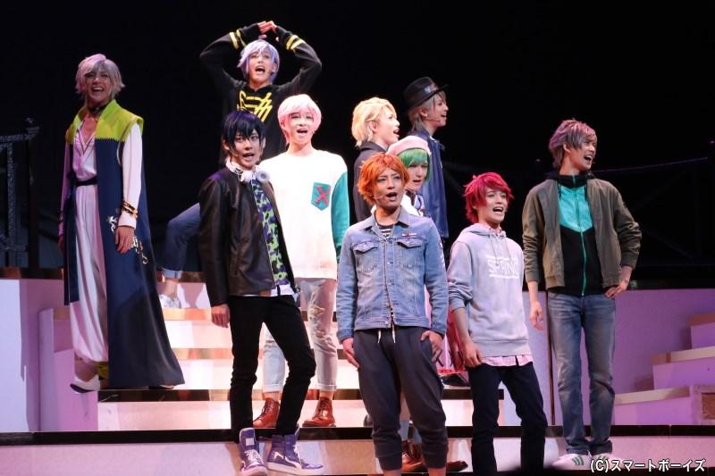 大人気イケメン役者育成ゲーム『A3!』が舞台化、「春組」「夏組」が初舞台に挑む!