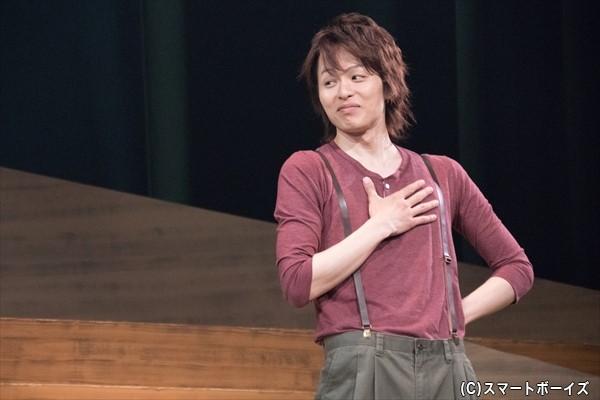 ジョリー役の荒木宏文さん