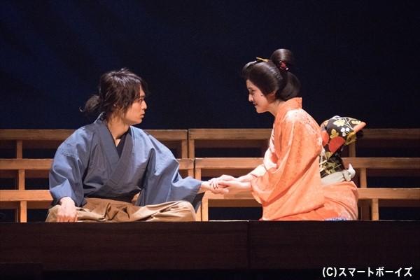 万次郎は帰国後、鉄(山下聖奈さん)と結婚