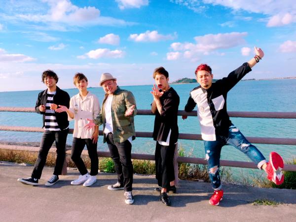 沖縄出身の5人組バンド・JaaBourBonz(ジャアバーボンズ)
