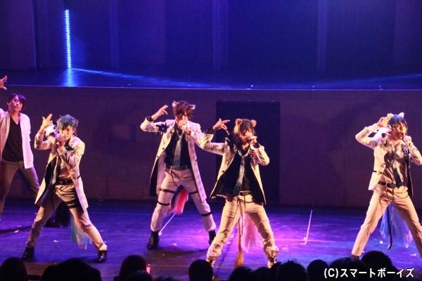 彼らが魅せるキレキレのダンスは必見!!