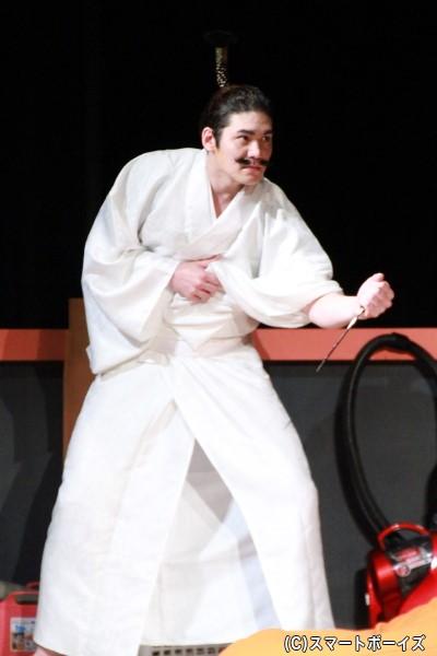 織田信長役のspiさん